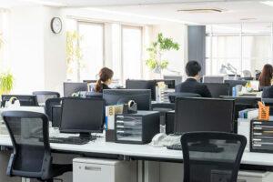 Office furniture reconfiguration
